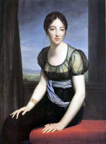 Portrait of Laure Regnaud de Saint-Jean d'Angély by Francois Gerard (courtesy of Wikimedia Commons).
