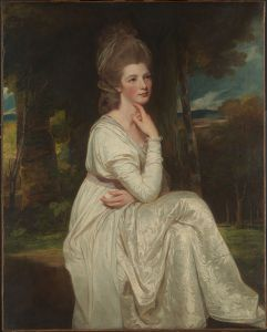 Countess of Derby, by George Romney c. 1776-78.