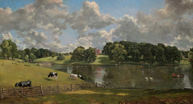 Wivenhoe Park by John Constable, 1816. Source: Wikimedia Commons