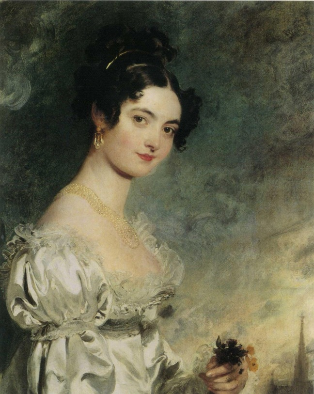 Portrait of Lady Selina Meade by Thomas Lawrence, 1819. Source: Wikimedia Commons