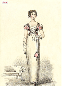afternoon dress_lady's monthly museum_may1812