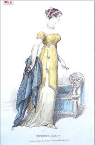 evening dress_la belle assemblee_jan 1813