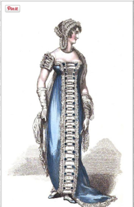 evening dress_la belle assemblee_june 1812