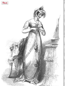 evening dress_la belle assemblee_june 1812_off shoulder