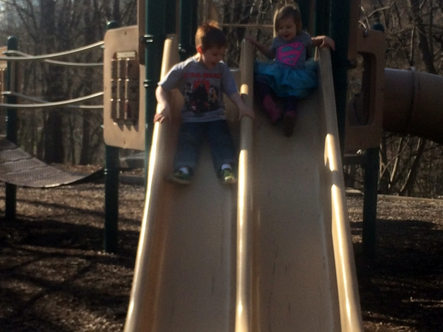 kids at playground march 2016