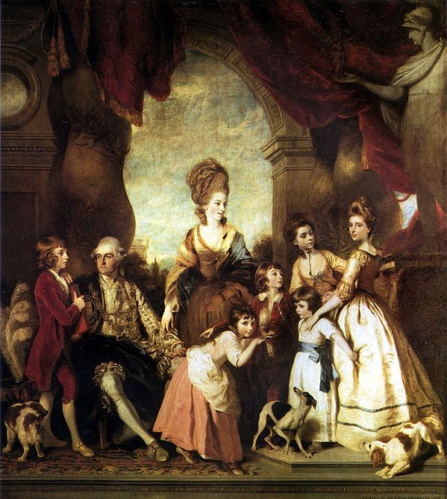 800px-reynolds_-_4th_duke_of_marlborough_and_family