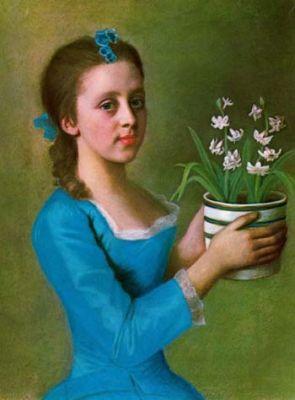 lady caroline russell, 1754