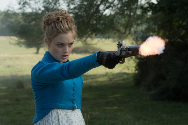 Bella Heathcote in Screen Gems' PRIDE AND PREJUDICE AND ZOMBIES.